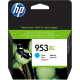 Cartouche encre HP F6U16AE - HP 953XL Cyan