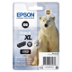 Compatible Epson T2631- Photo Noir
