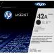 Cartouche Toner HP Q5942A - HP 42A