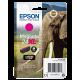 Cartouche encre Epson 24XL / T2433 Magenta - C13T24334012