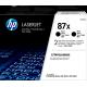 Cartouche Toner HP CF287X / 87X
