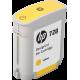 Cartouche encre HP F9J61A - 728 - jaune